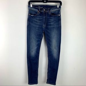 Franklin & Marshall Womens Skinny High Rise Jeans